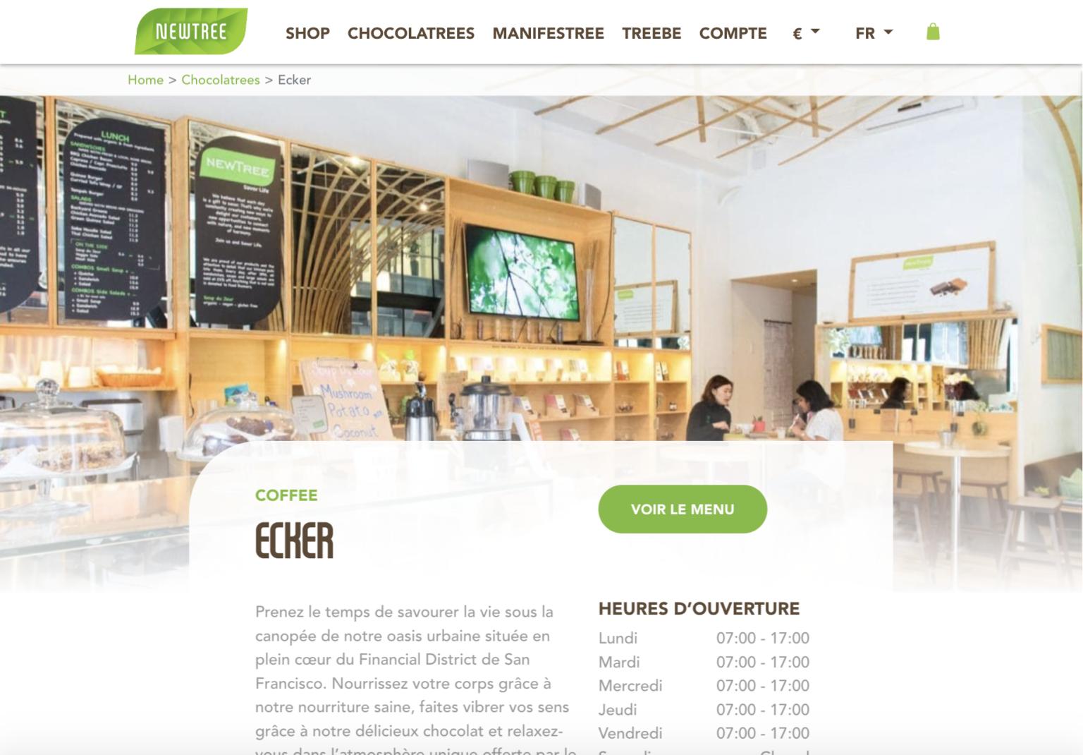 screenshot site newtree