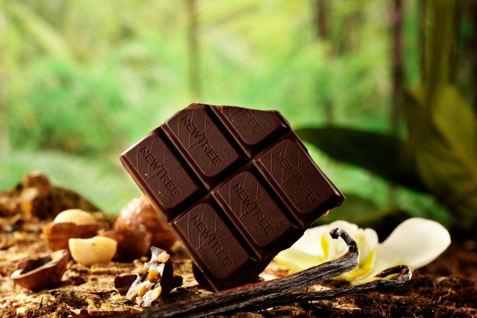 plaquette chocolat newtree