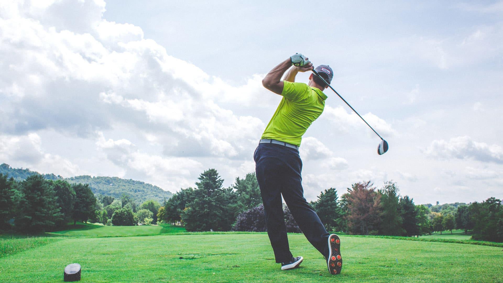 photo joueur de golf