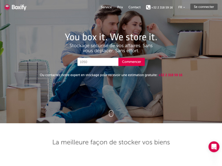 screenshot site boxify