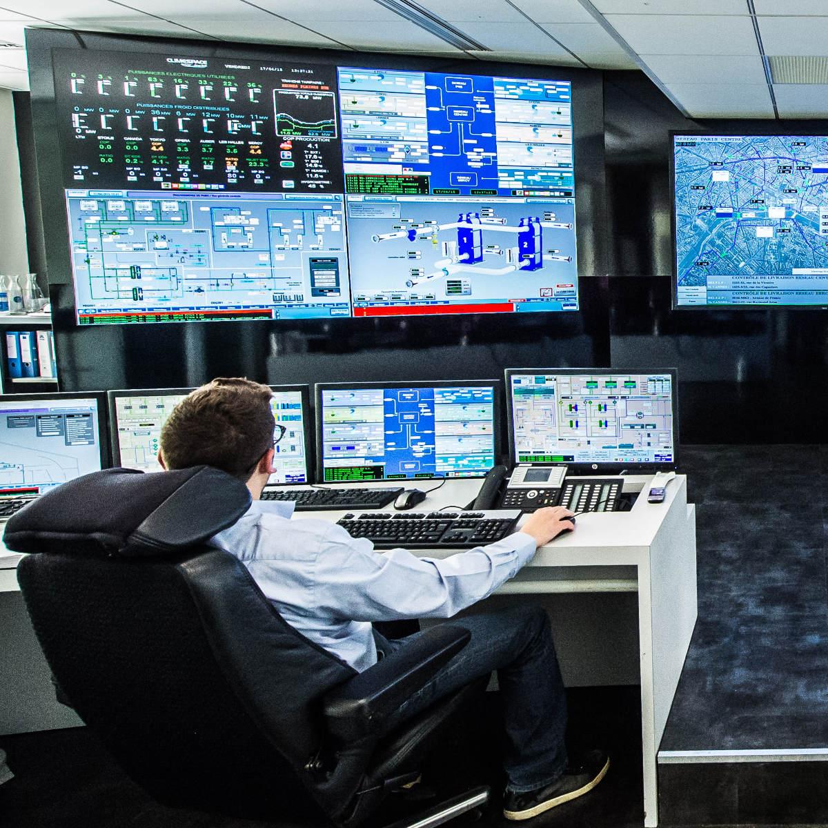 salle de controle climespace