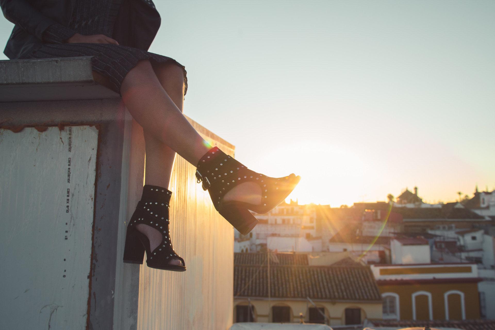 chaussures à talons sweet lemon